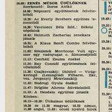 Zenés műsor üdülőknek. Újratöltve. Szerkesztő: Boros Anikó. 1976.07.12. Petőfi rádió. 10.00-12.00.