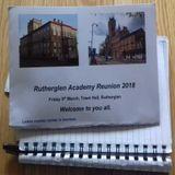 Rutherglen Academy Reunion 2018