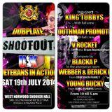 DUBPLATE SHOOTOUT - V ROCKET, YOUTHMAN PROMOTION & KING TUBBYS - 19/7/14 - LONDON, UK