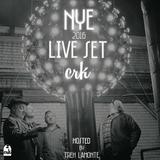 Dj Crk - NYE Live Set (Hosted by Treh Lamonte) 31-12-2015