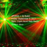 ATOMIX Dj RobO September 8 2017 Acxit Web Radio