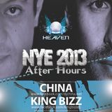 Dj China Live @ Heaven NYE Afterhours 2013  part 1