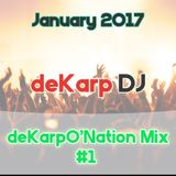 deKarp DJ  - deKarpO'Nation Mix #1