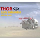 Luis Miranda at THOR art car Burning Man 2018