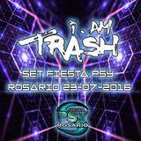 I Am TRASH - Live @ Rosario Fiesta-Psy (Rosario) 23.07.16