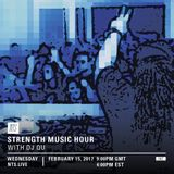 Strength Music Hour w/ DJ QU - 15th February 2017