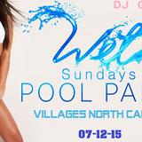 Wet Sundays - POOL PARTY - VILLAGES NORTH CAROLINA - 07-12-15 - DJ GREG G