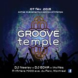 2015-02-07 // GROOVE TEMPLE MONTREAL