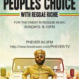 The Peoples Choice On Phever 93.2 fm Dublin 20/3/16