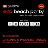 Edp Beach Party 2015 with Paranoyd Division