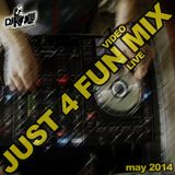 Kolle - Just 4 Fun LIVE VIDEO Mix (may 2014)