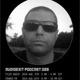 Audioexit Podcast026 - Doeme