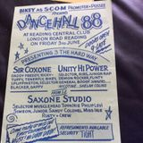 Unity Hi Fi v Sir Coxsone v Saxon Studio@Central Club Reading UK 3.6.1988