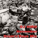 DJ HIRO November Drum,n,Bass Mix