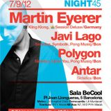 Antar@Be-cool club(Barcelona)