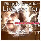 Ricardo Elgardo Live Mix for Re:Form