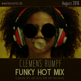CLEMENS RUMPF - FUNKY HOT MIX AUGUST 2016 (www.housearrest.de)