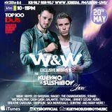 Kueymo & Sushiboy KFM Podcast Ep 84 w/ exclusive interview with W&W @ NWYR