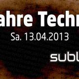 Jim Bean - 2013-04-13 - LIVE - Weeß der Fuchs .. 20 Jahre Techno! - Floor2 Opening @ Subland, Berlin