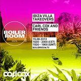 Nicole Moudaber - Live @ Carl Cox & Friends Ibiza Villa Takeovers Boiler Room 2013.08.15.