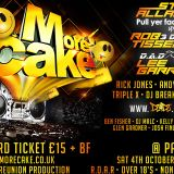 Dj's Woody + Kenny Deans - Back2Back@More Cake 4-10-2014