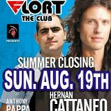 Hernan Cattaneo and Anthony Pappa - Live at Summer Closing Party, Club Flort, Siofok (19-08-2007)