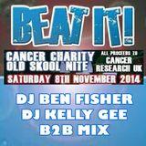 DJ Ben Fisher & DJ Kelly G B2B @ BEAT IT (Cancer Charity Old Skool Night)