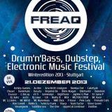 DJ STEAMPUNK - FREAQ FESTIVAL 2013 WINTEREDITION @ Club Zollamt (21-12-2013)