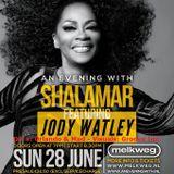 SHALAMAR & JODY WATLEY MIX - Zondag 28 Juni 2015 - Melkweg - Amsterdam - Mixed by Groove Inc.