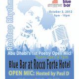 Rooftop Rhythms Abu Dhabi, Opening Mix (Oct 3, 2012)