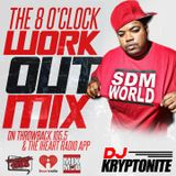 Throwback 105.5 8 O'Clock Workout Mix 90s/2000s 12-06-19 [Download]