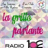 """""""La Grillo parlante"""" su Radio 102-11/05/2016 ospiti Ass. Insieme per Villa Rosina e Fan Club Granata"""