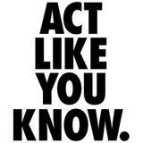 ACT LIKE YOU KNOW. GregTONUS Dj Mix.