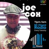 JOE COX / USUAL SUSPECTS MUSIC SHOW / Mi-House Radio /  Tue 11pm - 1am / 30-07-2019