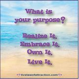 Life Purpose... hmmmm do you know yours?