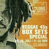 Global Beatbox 155 Reggae 45 Box Sets