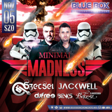 2016.11.05. - Minimal Madness - Blue Box, Gyöngyös - Saturday