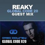 Reaky - Global Code 20 Guest Mix (7. nov 2010)