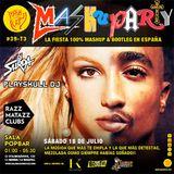 Mashuparty #39 - DJ Surda & Playskull DJ (MashCat Team) - PopBar Razzmatazz (2015/07/18)