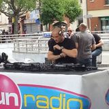 Mix live podium Fun Radio inox festival