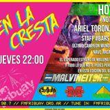 EN LA CRESTA - Nota con Ariel Toronja (26-10)