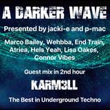 #205 A Darker Wave 19-01-2019 with guest in 2nd hr karm3ll