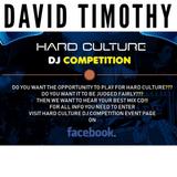 David Timothy - Hard Culture Dj Competition Entry December 2018