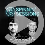 Spinnin Session Ep 100 - Guests: Oliver Heldens & Martin Garrix