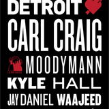 From Moodymann to Kyle Hall & Waajeed @ Detroit Love (Nuits Fauves Paris) 10 Fevrier 2017