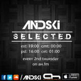 Andski - Selected 133 - hosted by Tali Muss & Heatbeat