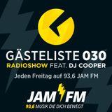 Gästeliste030 RadioShow feat. DJ COOPER 11.03.2016