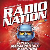 Charles McThorn@RADIONATION 2013 (Sunshine Live)