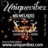 MS MELADEE SOULFUL RARE GROOVE SUNDAYS 1 MAY 2016 ON UNIQUEVIBEZ.COM