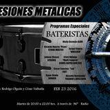 Sesiones Metálicas - Especial de Bateristas